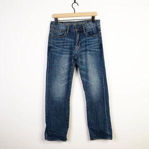 American Eagle Original Straight Denim Jeans 30x30